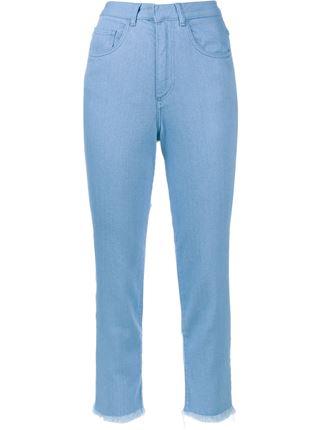 MARQUES ALMEIDA Frayed Hem Jeans £250.00